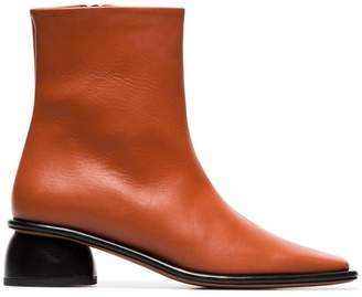 Neous Sed 35 leather ankle boots
