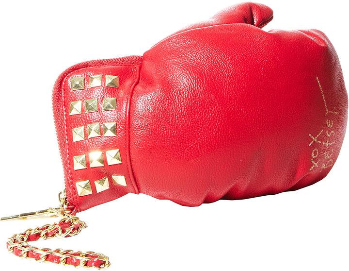 Betsey Johnson Boxing Glove Wristlet