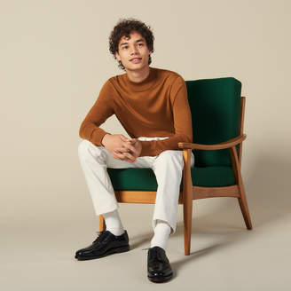 Sandro Funnel Neck Sweater