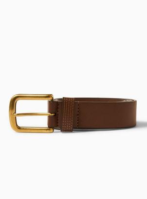 Topman Tan Jeans Belt