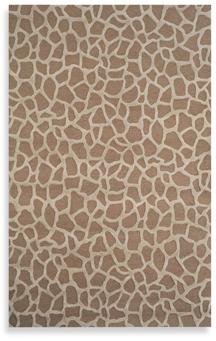 Seville Giraffe Taupe Rug