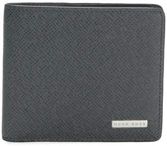 HUGO BOSS grained bifold wallet
