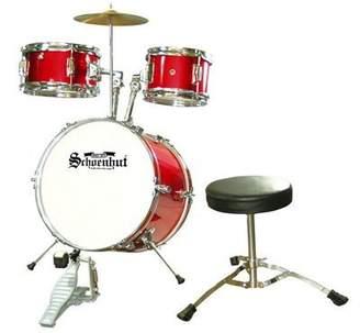 Schoenhut Junior 5 Piece Drum Set Red