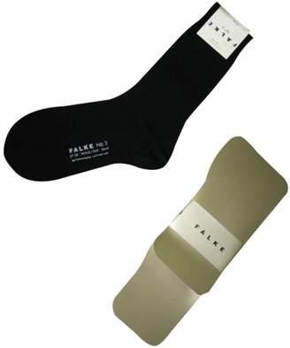 Falke No 3 Wool silk Hosiery Socks 47473 6.5-7.5