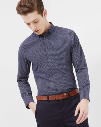 Geo print cotton shirt $165 thestylecure.com