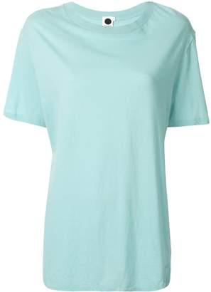 Bassike flared short-sleeve T-shirt