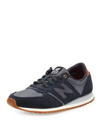 New Balance 420 Chambray Low-Top Sneaker, Blue $69.95 thestylecure.com