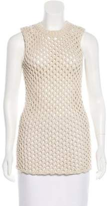 Derek Lam Sleeveless Open Knit Tunic