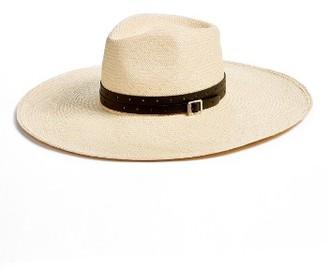 Women's Rag & Bone Wide Brim Panama Hat $295 thestylecure.com