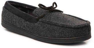 Dearfoams Front Tie Slipper - Men's
