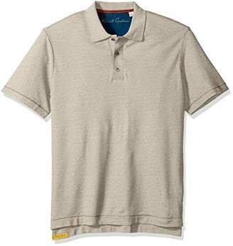 Robert Graham Men's Short Sleeve Classic Fit Jersey Model Polo