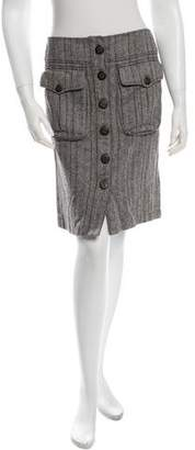 Magaschoni Knit Knee-Length Skirt