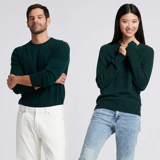 Naadam The Essential $75 Cashmere Sweater Forest Green
