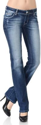 VIRGIN ONLY Women's Slim Bootcut Jeans (, Size)