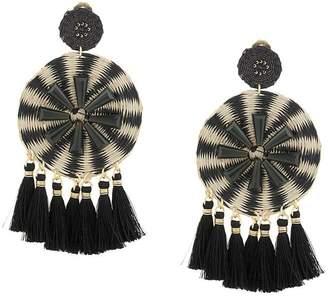 Mercedes Salazar Kashi Ceniza tasseled earrings