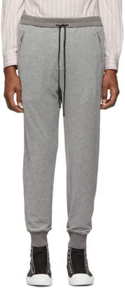 3.1 Phillip Lim Grey Dropped-Rise Tapered Lounge Pants