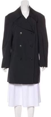 TSE Wool Knee-Length Coat