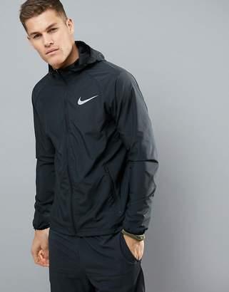 Nike Running Essentials Jackets In Black 856892-010