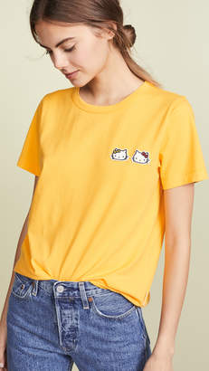 Chinti and Parker Hello Kitty Badge Tee