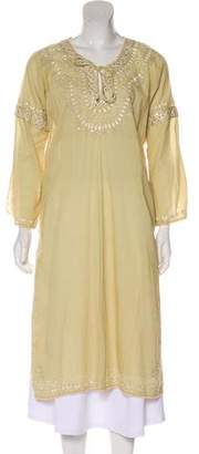 Anya Hindmarch Embroidered Cover-Up Tunic