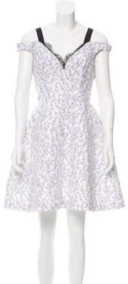 Natasha Zinko Floral Mini Dress