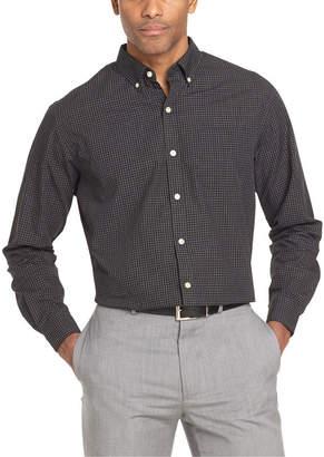 Van Heusen Mens Long Sleeve Button-Front Shirt