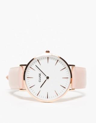 La Bohème Rose Gold White/Pink $99 thestylecure.com