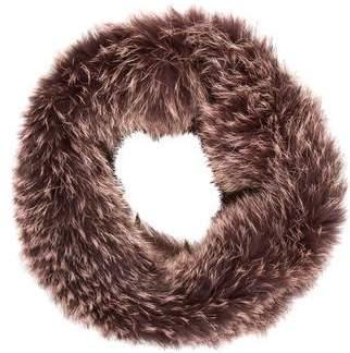 Fox Fur Infinity Scarf