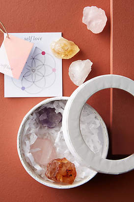 Anthropologie Well Done: Wellness by Well Done Crystal Set