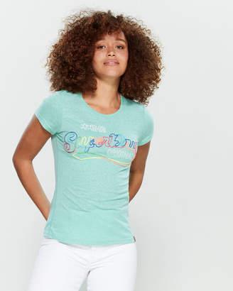Superdry Rainbow Stitch Logo Tee