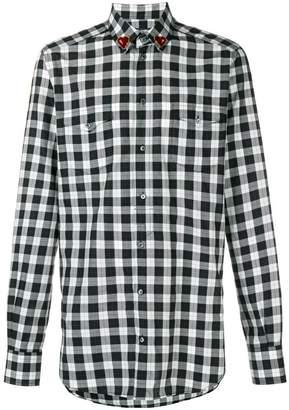 Dolce & Gabbana gingham button shirt