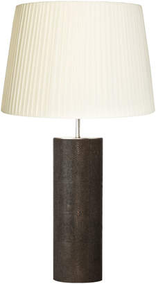 Oka table lamps shopstyle uk at oka direct oka tonneau faux shagreen table lamp aloadofball Images