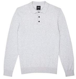 3dd99cb3 Mens Long Sleeve Knitted Polo Shirts - ShopStyle UK