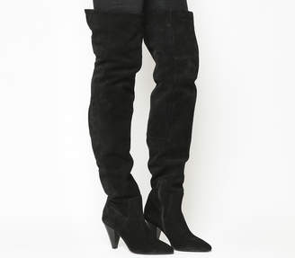 Office Kone Slouch Over The Knee Boots
