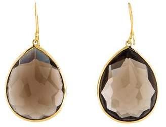 Ippolita Smoky Quartz Large Teardrop Earrings