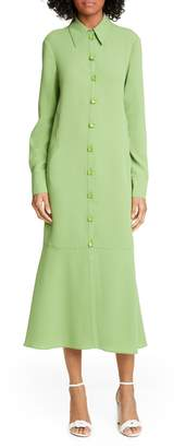 Tibi Maxi Shirtdress