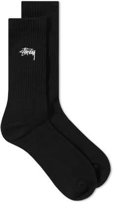 Stussy Small Stock Crew Sock