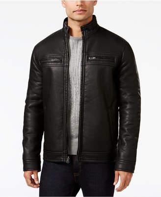 INC International Concepts I.n.c. Men's Full-Zip Faux-Leather Jacket