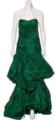 Oscar de la Renta 2017 Silk Gown w/ Tags green 2017 Silk Gown w/ Tags