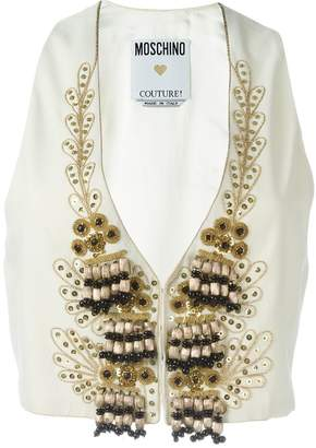 Moschino Pre-Owned embellished waistcoat