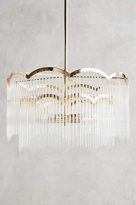 Anthropologie Arched Waterfall Chandelier