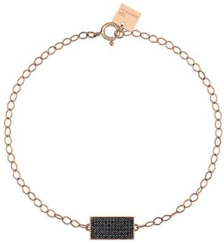 ginette_ny Mini Black Diamond Ever Rectangle Bracelet