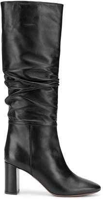 L'Autre Chose ruched knee-length boots
