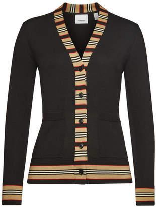 Burberry Virgin Wool Cardigan