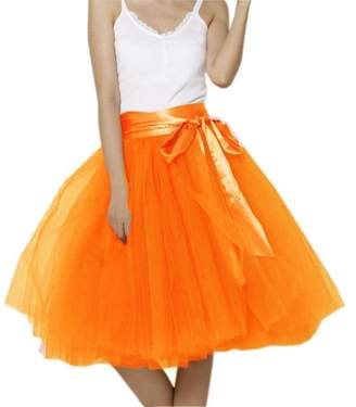 Mainsa Appare Tue Skirt 7ayers Eastic Bet Midi Tutu Skirts
