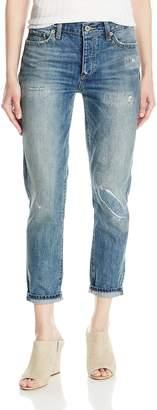 Lucky Brand Women's Mid Rise Sienna Slim Boyfriend Jean in Cedar Park 26 (US 2)