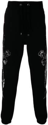 Just Cavalli dragon print track pants