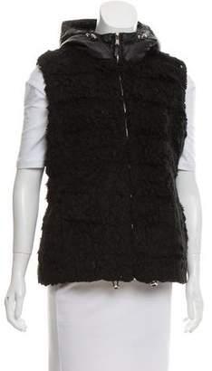 MICHAEL Michael Kors Faux Fur Down Vest