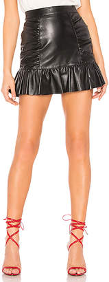 Parker Alexandra Leather Skirt