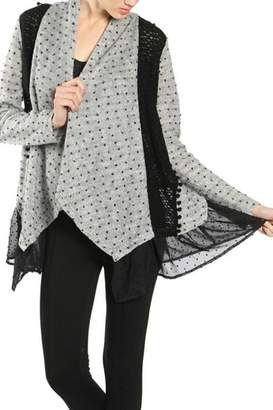 Ryu Dotted Lace Cardigan